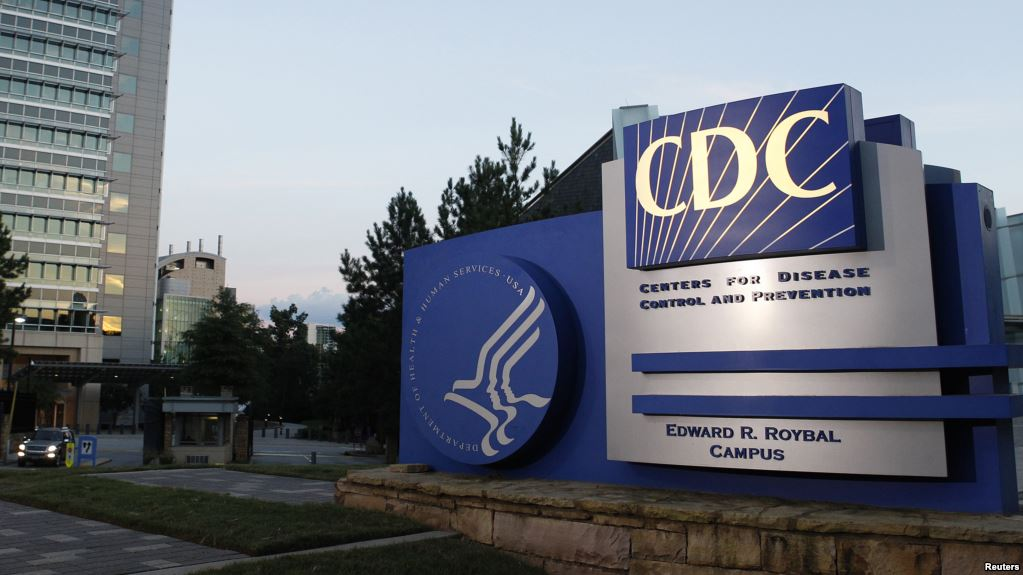 Building with Large CDC Sign