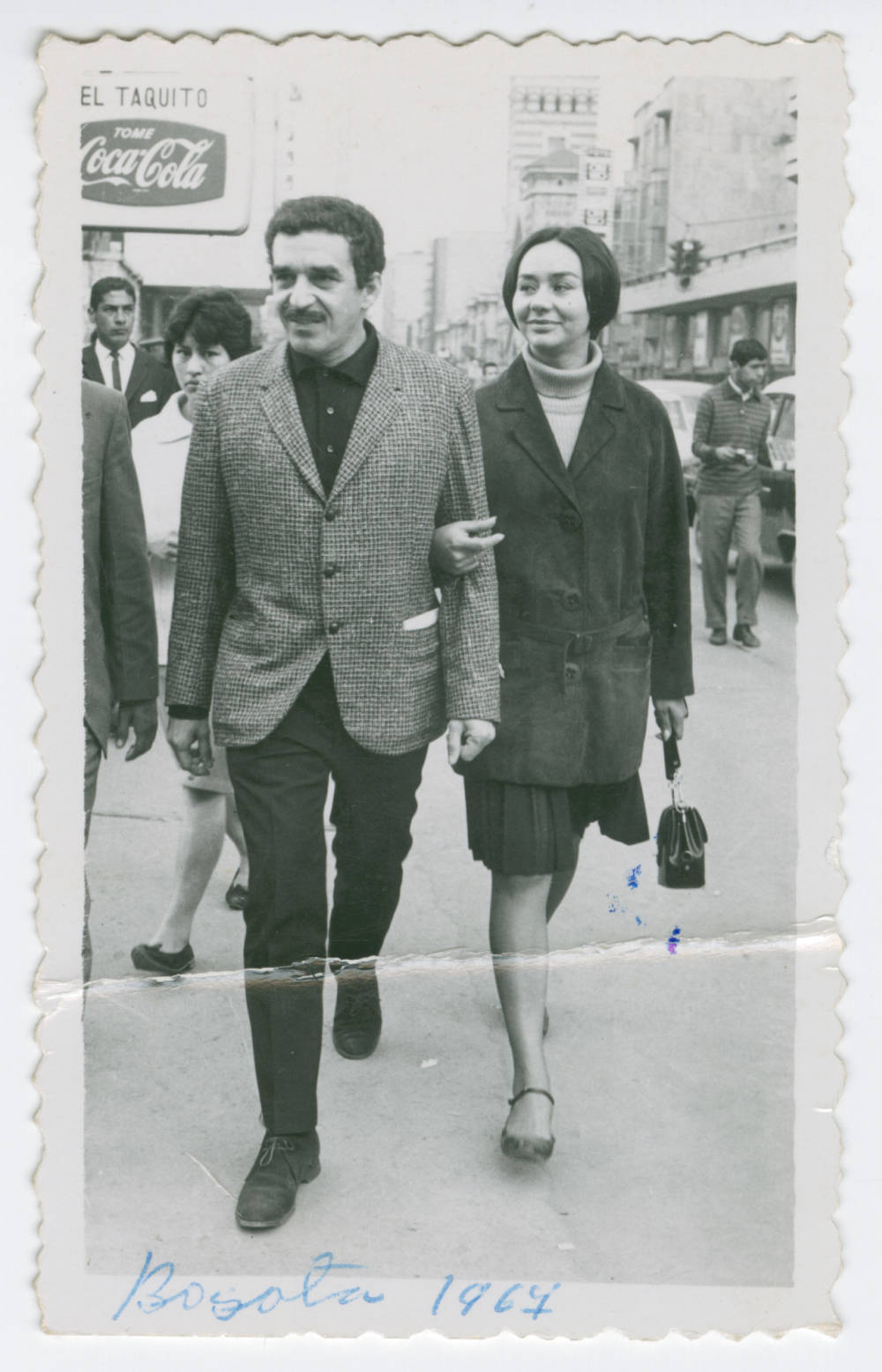 Man with Woman Walking in Hand