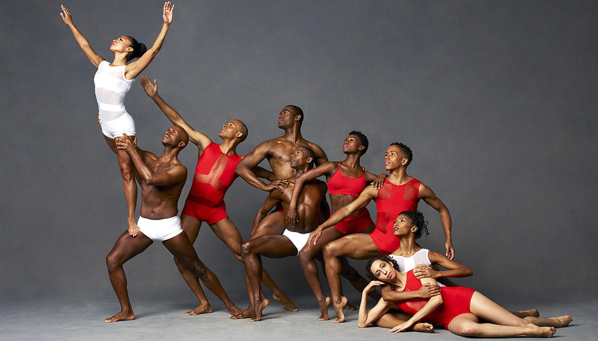 Group Of Dancers in Pose