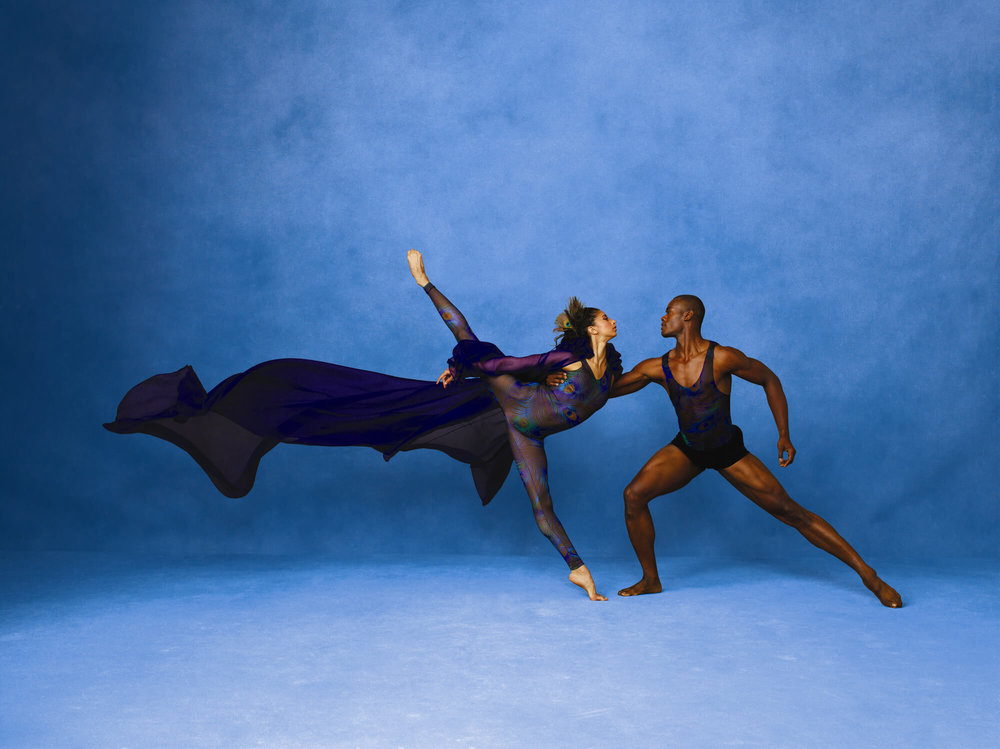 Two Dancers in Pose