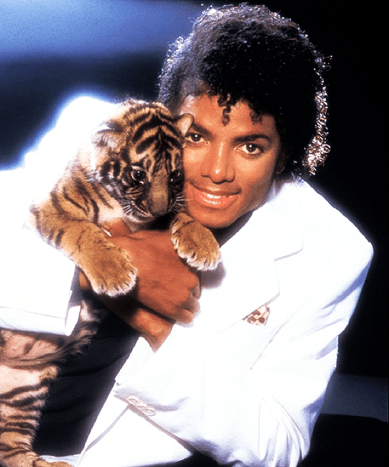 Man with Tiger Cub